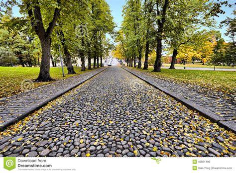 el camino de las un camino de piedra en la estaci 243 n del oto 241 o foto de archivo imagen 49821496