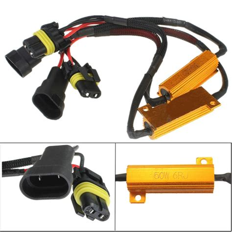 led resistor bmw 2 x carchet hb3 hb4 led turn signal load resistor canbus for bmw audi alex nld