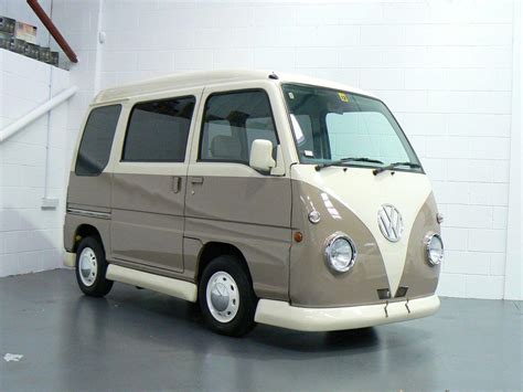 mini cer van used 1997 subaru sambar 660cc retro mini van for sale in