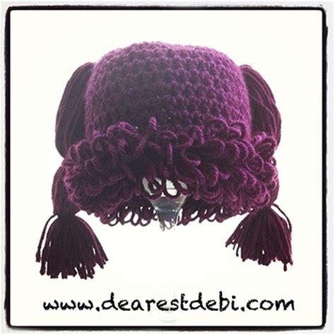 cabbage patch kid crochet patterns crochet patterns only crochet cabbage patch kid newborn beanie dearest debi
