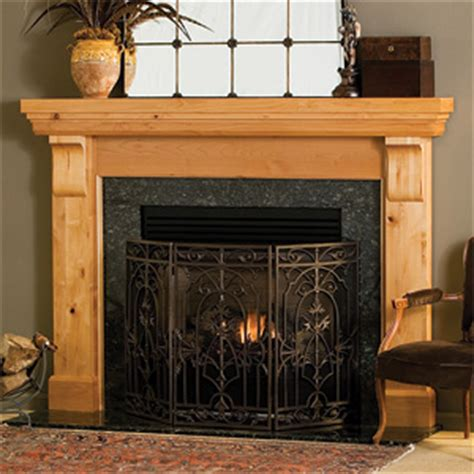 lancaster traditional wood fireplace mantel surrounds