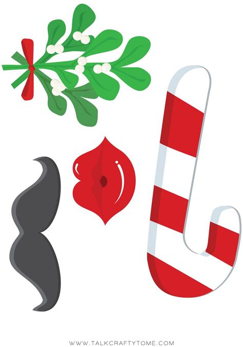 christmas photo booth clipart 30