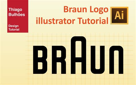 tutorial illustrator em portugues braun logo illustrator tutorial portugu 234 s youtube