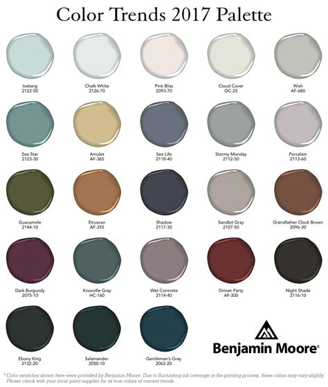 benjamin moore 2017 color of the year 100 2017 color of the year 2017 color of the year