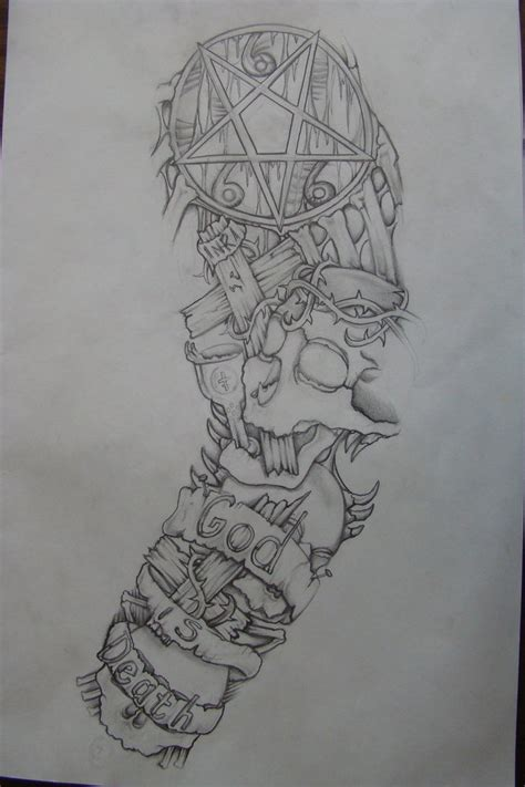 tattoo sleeve drawings sleeve drawing done 3 yrs ago by chrismorillo on deviantart