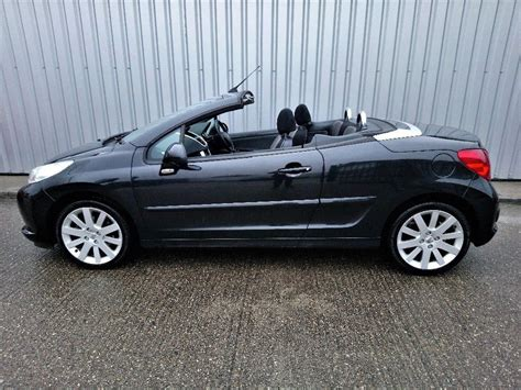 peugeot 207 convertible peugeot 207 cc convertible automatic in ilford