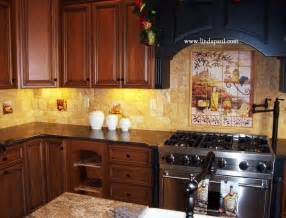 Designer Kitchen Backsplash Tuscan Backsplash Tile Murals Tuscany Design Kitchen Tiles