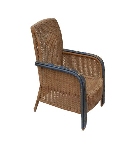 Wicker Armchair by Antique Wicker Armchairs