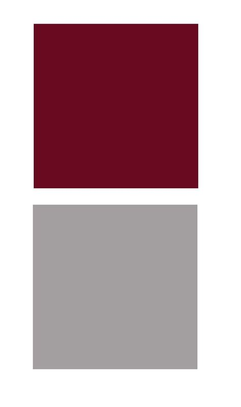 burgundy and gray color patterns