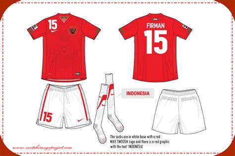 desain baju bola indonesia baju sepak bola