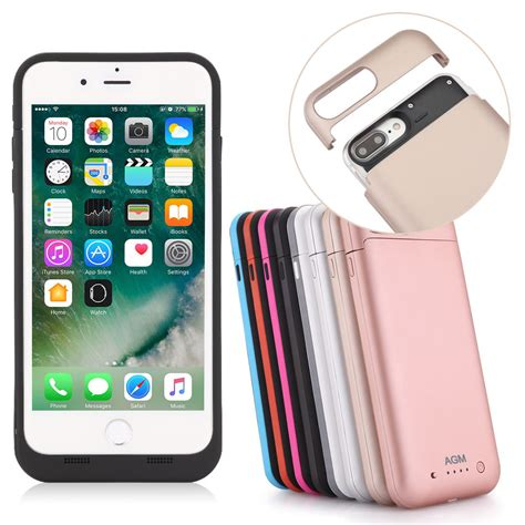 4500mah 7000mah battery charger detach power for iphone 7 8 plus ebay