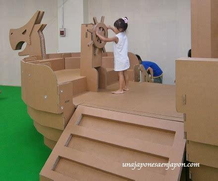 como hacer un barco gigante de carton arte con cart 243 n ダンボールアート en una japonesa en jap 243 n ある帰国