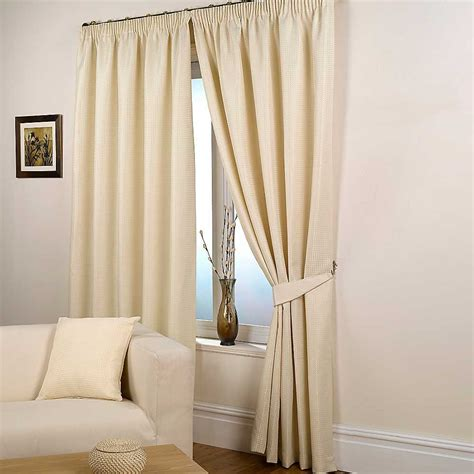 Lined Curtains Waffle Pair Of Standard Lined Curtains By Hamilton Mcbride