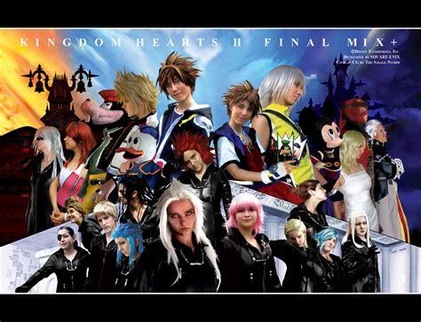 psp themes kingdom hearts 2 kingdom hearts final mix wallpaper wallpapersafari