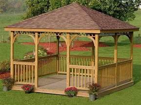 Diy Square Gazebo Plans by How To Build A Gazebo Diy Projects For Everyone