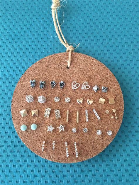 earring ideas jewelry 25 best ideas about stud earring organizer on