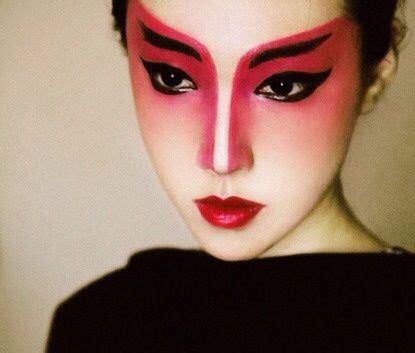 Eyeliner Kimono geisha makeup flawless blending asian makeup