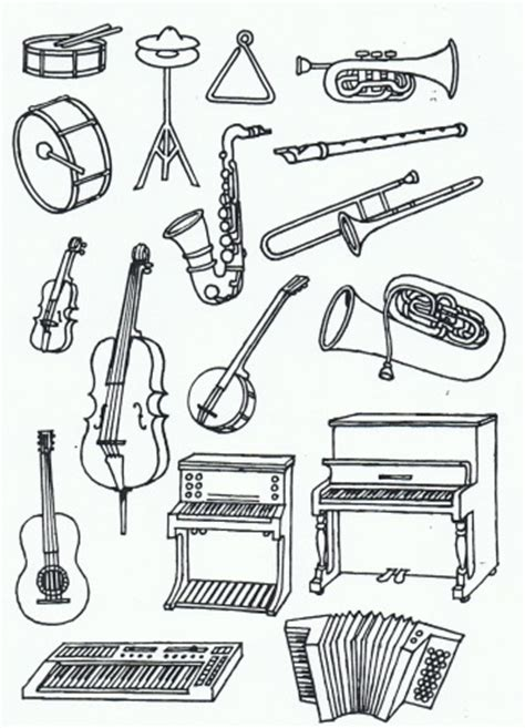 orchestra coloring pages coloring pages