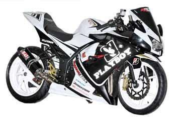 modifikasi kawasaki ninja cc style motogp gambar