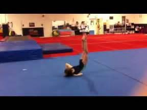 cool gymnastics floor move
