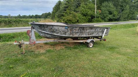 duck boat classifieds buy sell trade or rent lake - Duck Hunting Boat Ontario
