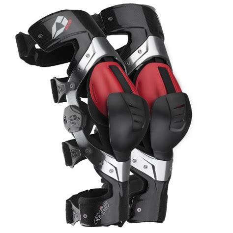 smp motocross gear evs sports axis pro knee brace carbon x large pair