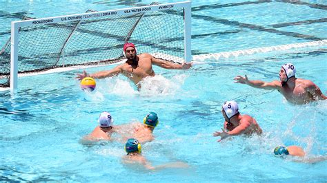 to the olympics learn an olympic sport water polo fox sports