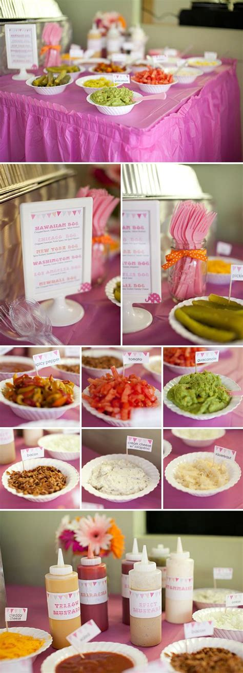 hot bar themes pink and orange carnival themed birthday party party