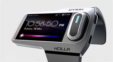 new gadget 187 concept new wearable gadget holla future technology