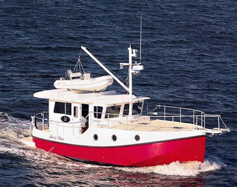 affordable offshore fishing boats five affordable trawlers under 40 feet boats
