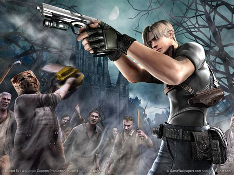 resident evil software and resident evil 4 biohazard