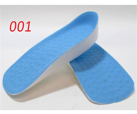 unisex height increase shoe lift insoles molded pad