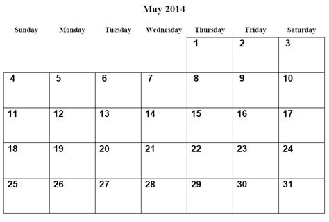 Calendar May 2014 Image Gallery May Calendar 2014