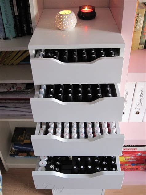 How To Open The Drawers In Ellie by 18 Fantastic Ways To Store Nail Polishes Pretty Designs