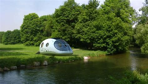 buy a pod house mercuryhouseone space age solar powered pod house unveiled inhabitat green design