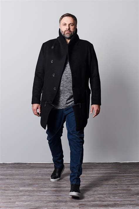 Men Style 60 Plus | plus size fashion urban plus size avant gard plus size