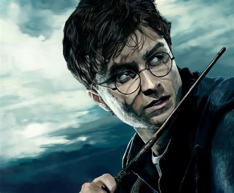 harry potter painting harry potter and the deathly hallows d by speedportraits