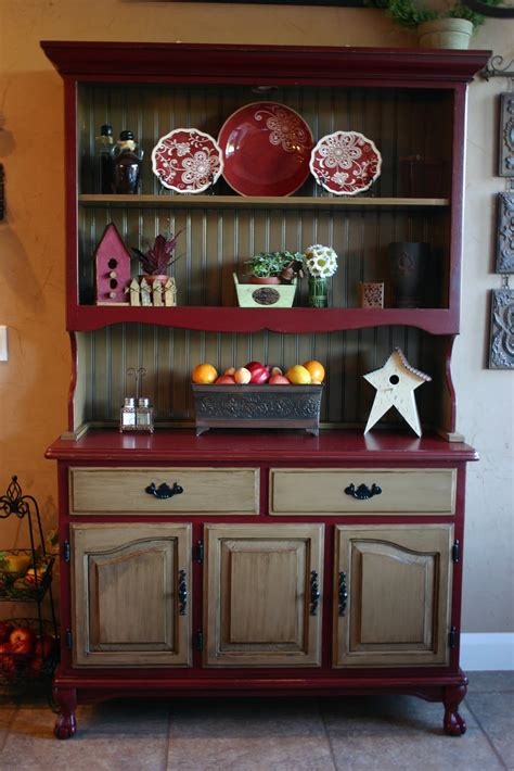 Decorating Ideas For A Kitchen Hutch Doubletake Decor My China Hutch