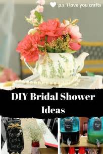 diy bridal shower ideas for a celebration p s i