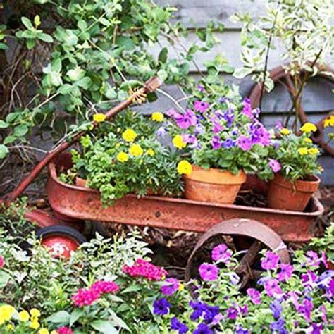 Wheelbarrow Garden Ideas 154 Best Images About Wheelbarrows Wagons In The Garden On Pinterest Gardens Wheelbarrow