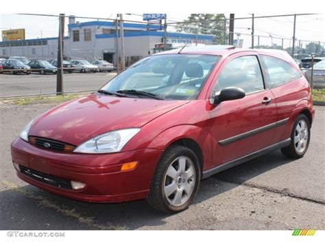 2002 Ford Focus Zx3 by Sangria Metallic 2002 Ford Focus Zx3 Coupe Exterior