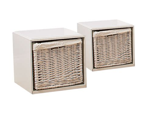 white bathroom storage cube offer buy 2 and save