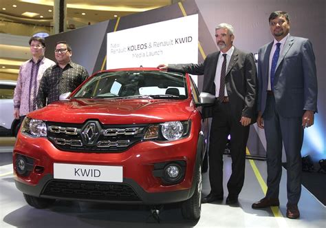 renault indonesia renault launches two cars in indonesia business