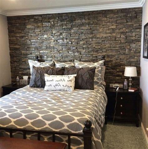 da letto con parete in pietra parete in mattoncini parete mattoni a vista cucina cucine