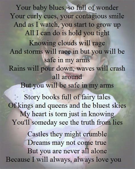 Plumb In Your Arms by Plumb In Arms Lyrics I You Thanks For