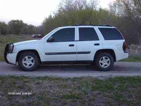 2003 chevy trailblazer lt sell used 2003 chevrolet trailblazer lt sport utility 4