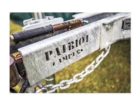 patriot x1 patriot x1 rv towing certrailers specification