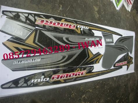 Striping Mio Sporty 2009 Biru stiker variasi yamaha mio soul car interior design