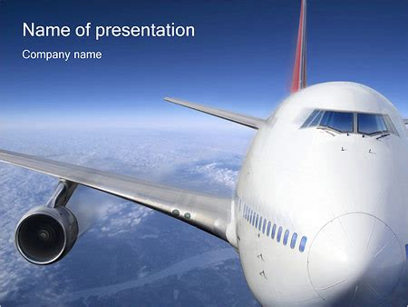 Airport Powerpoint Template Backgrounds Id 0000000909 Smiletemplates Com Airport Powerpoint Template