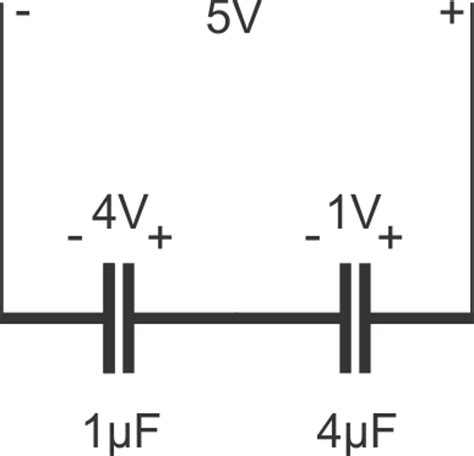 voltage across capacitor series resistor capacitors in series 187 capacitor guide